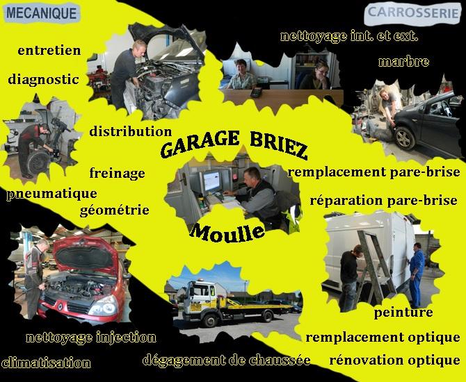 Prestation garage briez
